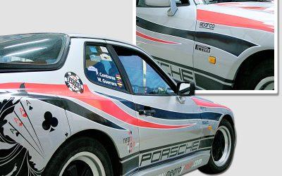 Rotulación vehículo competición