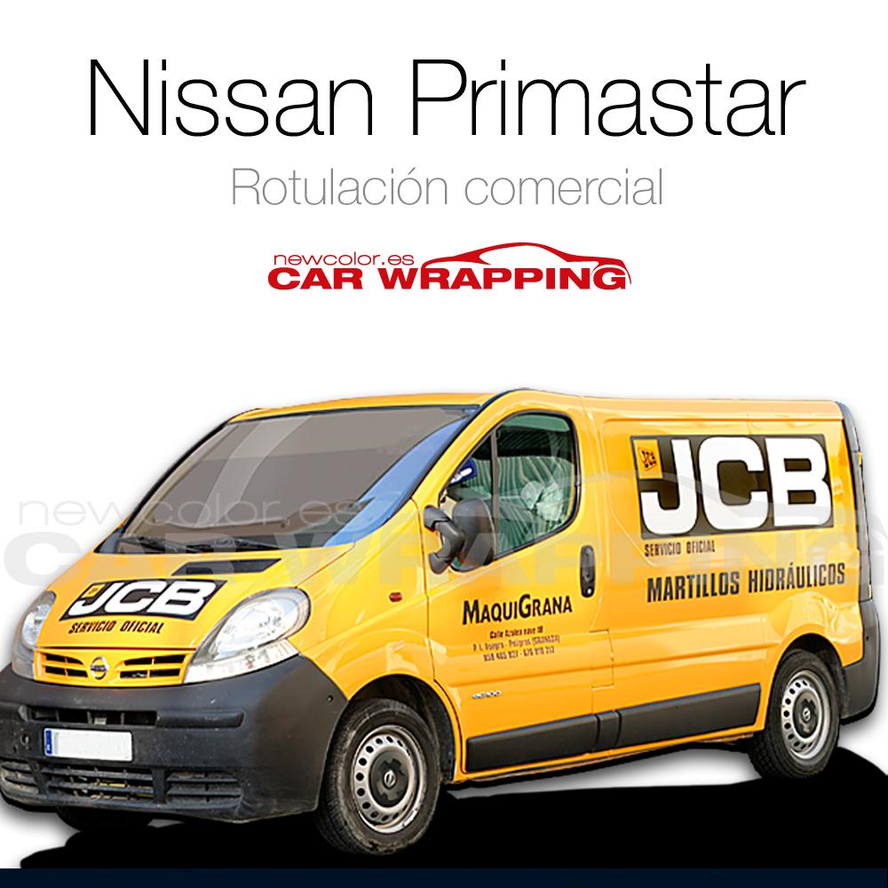 Rotulación Nissan Primastar