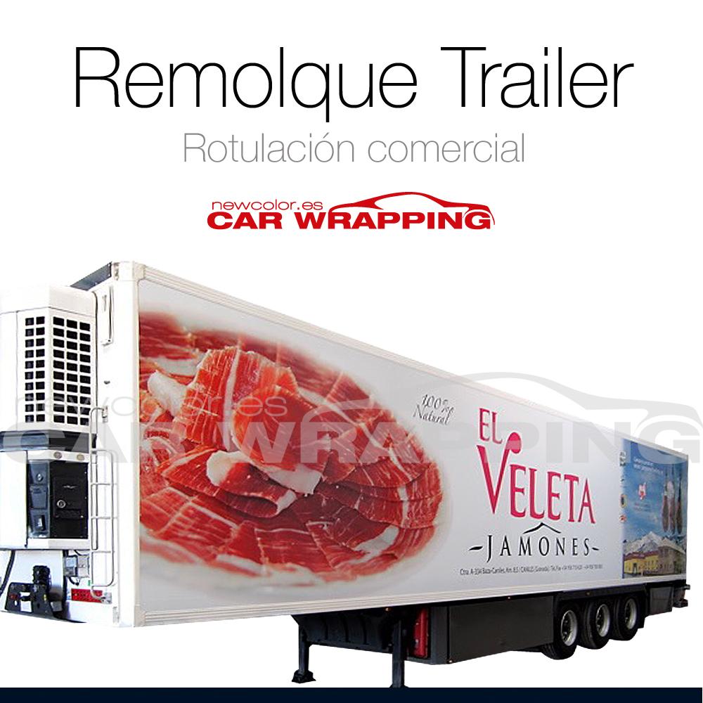 Rotulación caja remolque trailer