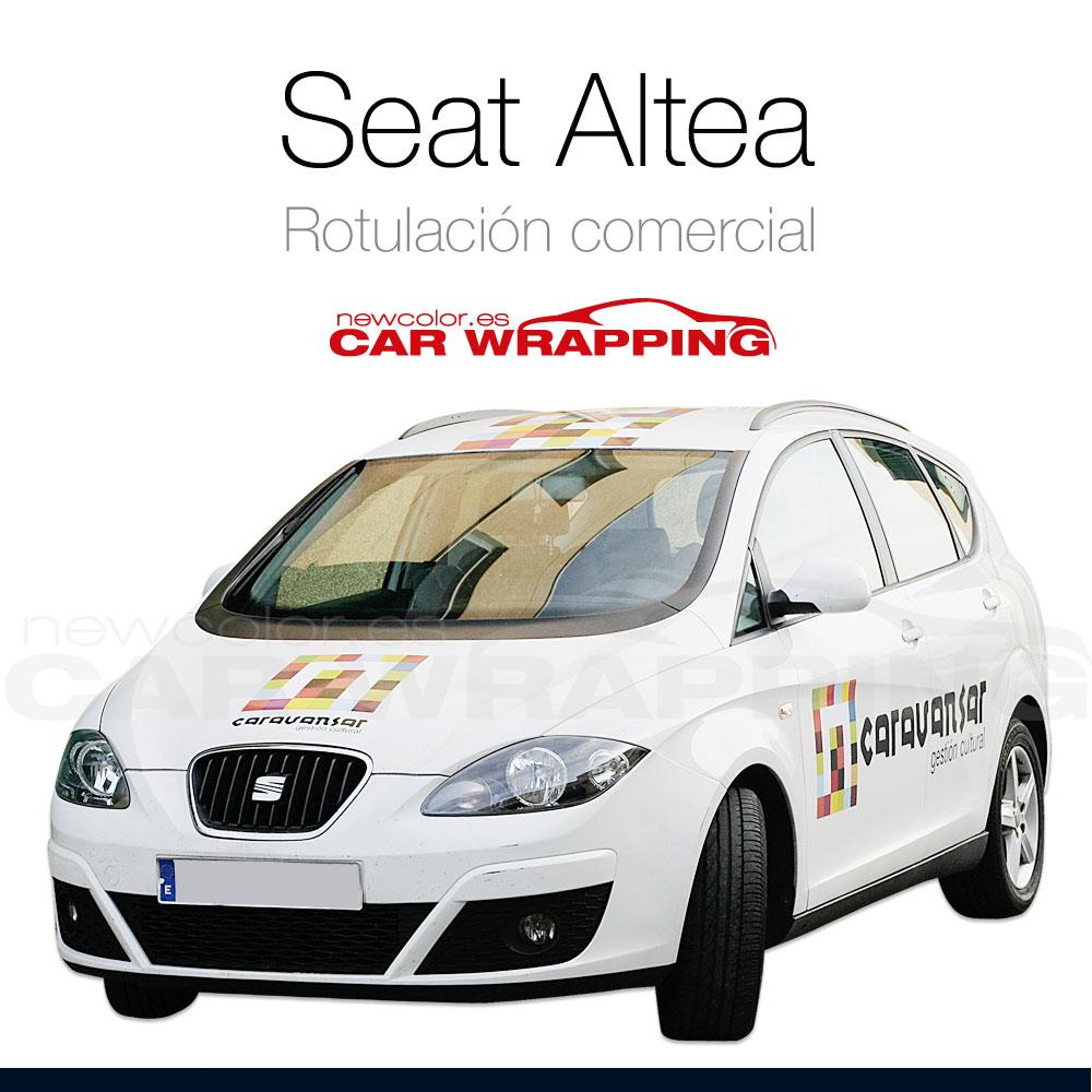 Rotulaicón y Car Wrapping Seat Altea