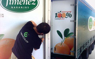 Rotulación Naranjas Jiménez