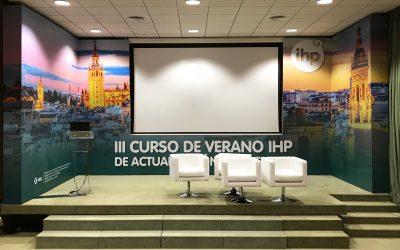 Cambio de escenario del Colegio de Médicos de Sevilla