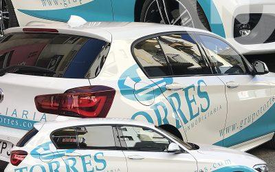 Rotulación BMW Grupo Torres