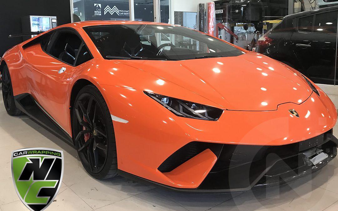 Rotulación Lamborghini Huracan