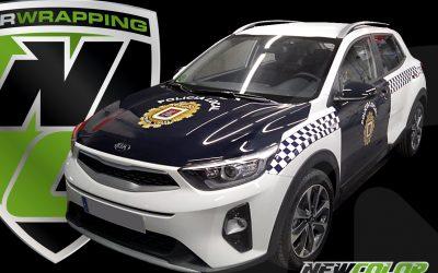 Rotulación de vehículos para Policía Local
